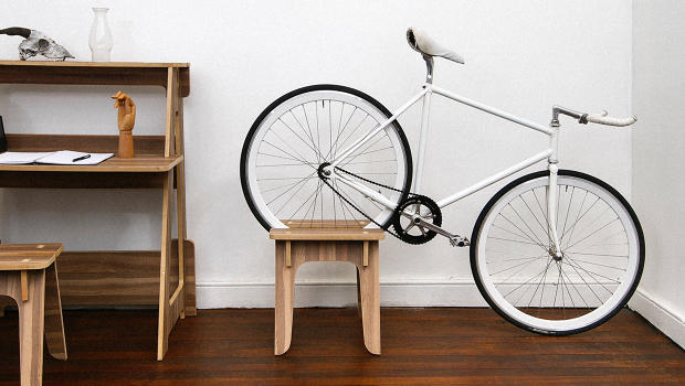 Get The Full Storythis Collection Of Furniture Could Turn Your Small Apartment Into A Bike Garage All Without Taking Up Any Extra Room